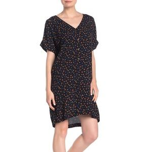 Madewell Button Front Easy Floral Dress